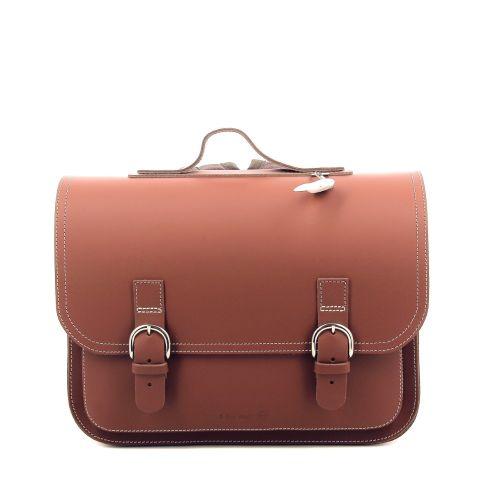 Ruitertassen tassen boekentas cognac 216376