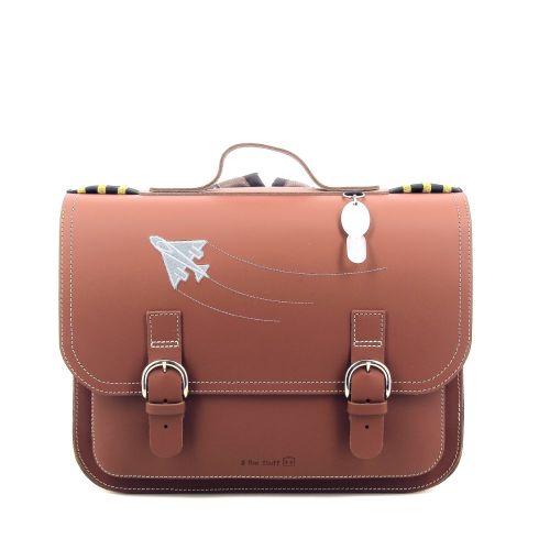 Ruitertassen tassen boekentas cognac 216379