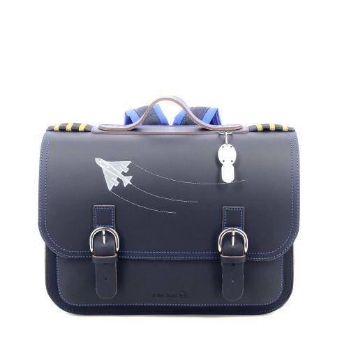 Ruitertassen tassen boekentas donkerblauw 216380