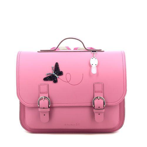 Ruitertassen tassen boekentas rose 216381