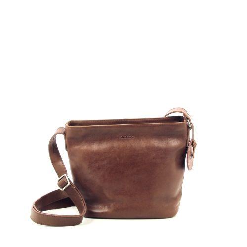 Saccoo tassen handtas cognac 206833