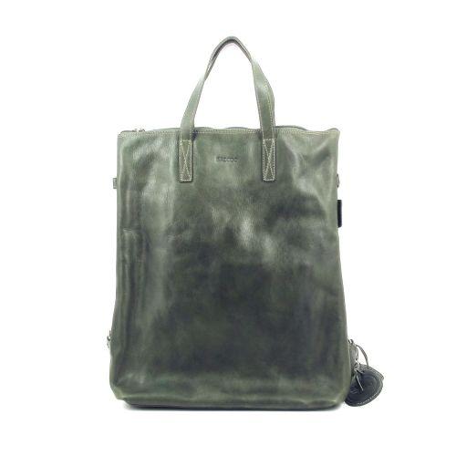 Saccoo tassen handtas donkergroen 219302
