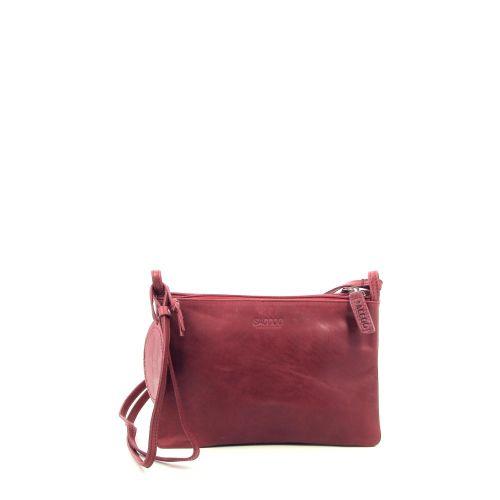Saccoo tassen handtas rood 206836