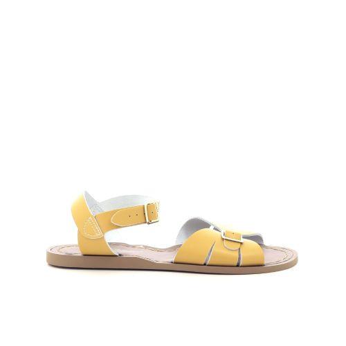 Saltwater damesschoenen sandaal geel 212102