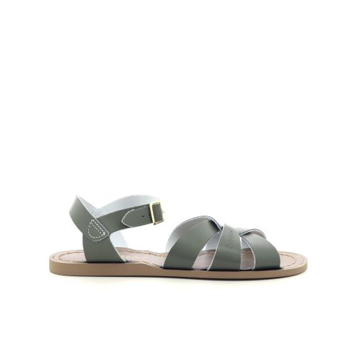 Saltwater damesschoenen sandaal kaki 203250
