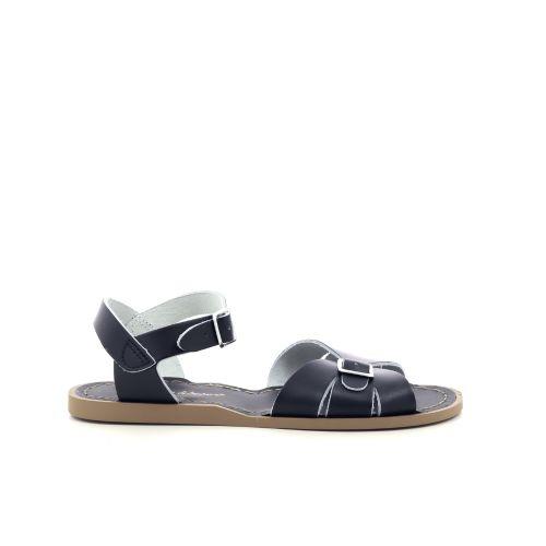 Saltwater  sandaal zwart 203254