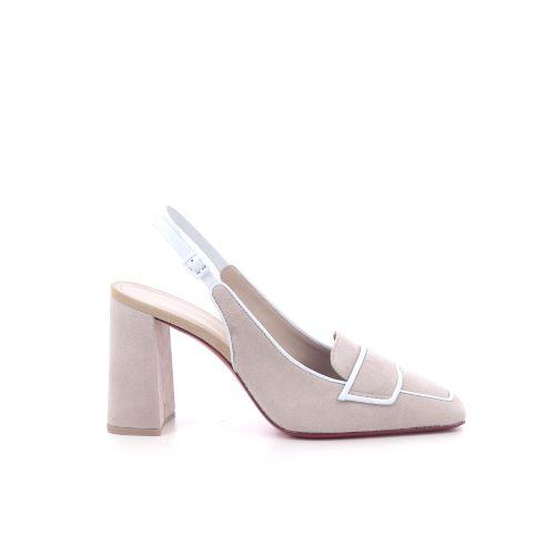 Santoni damesschoenen sandaal beige 214915