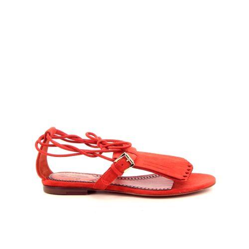 Santoni damesschoenen sandaal oranje 171443
