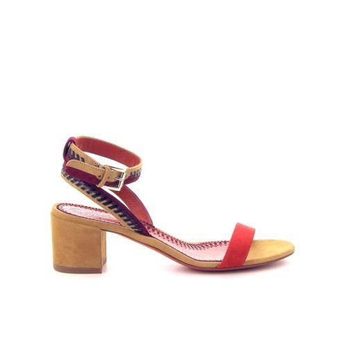 Santoni damesschoenen sandaal oranje 171446