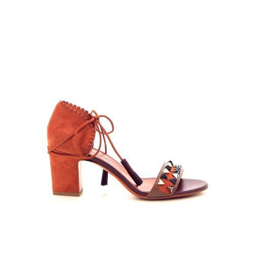 Santoni damesschoenen sandaal roest 184601