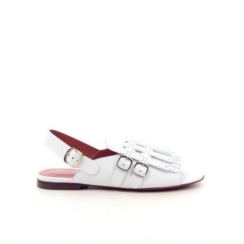 Santoni damesschoenen sandaal wit 191643