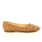 Santoni damesschoenen ballerina cognac 12192