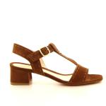 Santoni damesschoenen sandaal cognac 12185