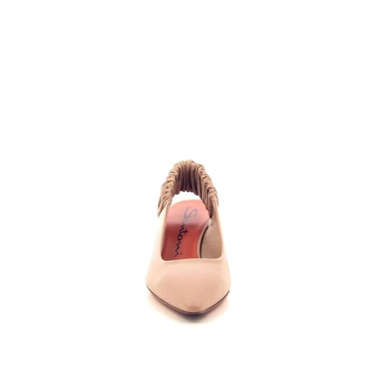 Santoni damesschoenen sandaal licht naturel 195227
