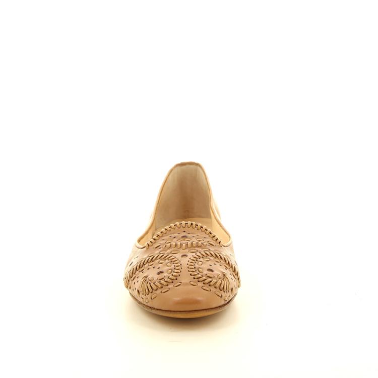 Santoni damesschoenen ballerina naturel 12192