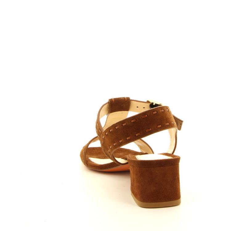 Santoni damesschoenen sandaal naturel 12185
