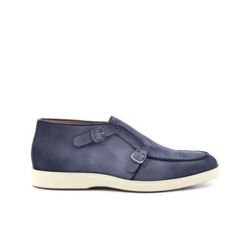 Santoni herenschoenen boots blauw 202478