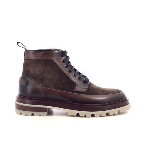 Santoni herenschoenen boots bruin 217011