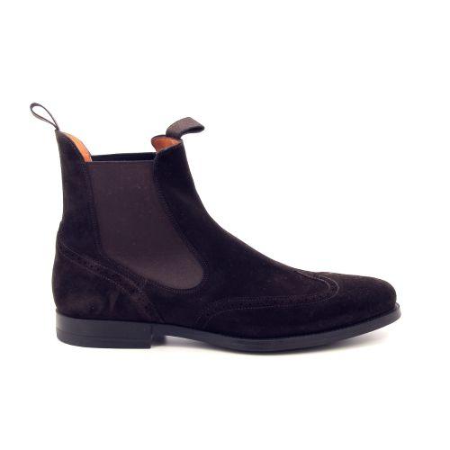 Santoni herenschoenen boots d.bruin 197634