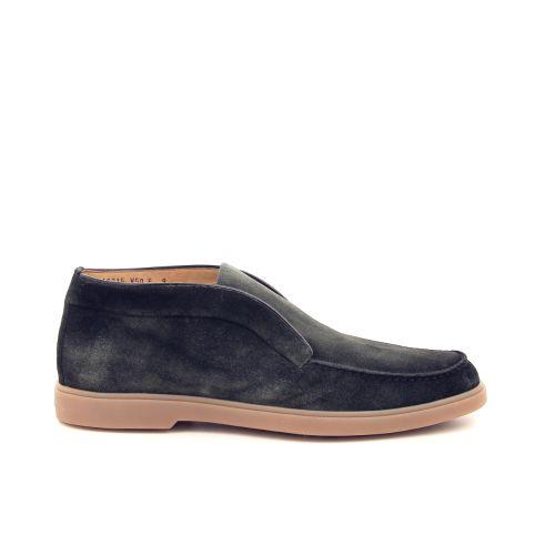 Santoni herenschoenen boots kaki 197631