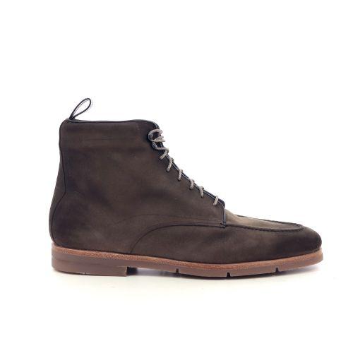 Santoni herenschoenen boots lichtbruin 207897