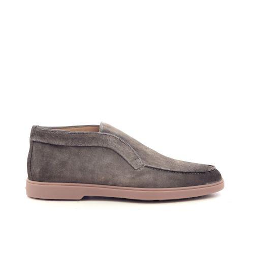 Santoni herenschoenen boots taupe 210070