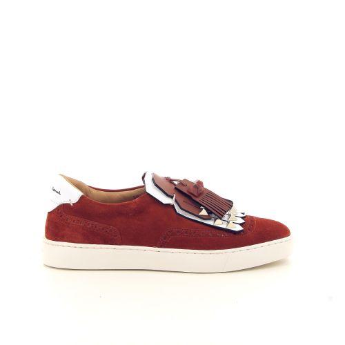 Santoni koppelverkoop sneaker roest 184582