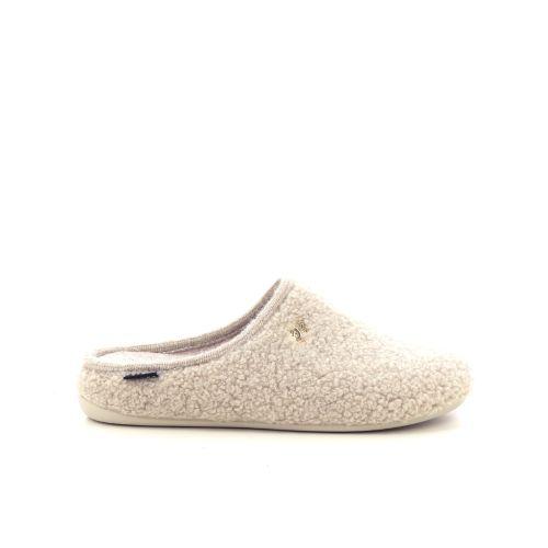 Scapa scarpe damesschoenen pantoffel beige 210031