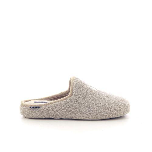 Scapa scarpe damesschoenen pantoffel beige 218134