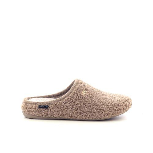 Scapa scarpe damesschoenen pantoffel camel 210030