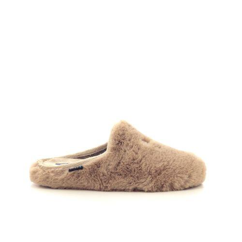 Scapa scarpe damesschoenen pantoffel camel 218130