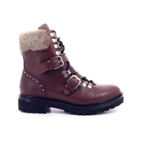 Scapa scarpe damesschoenen boots cognac 200391