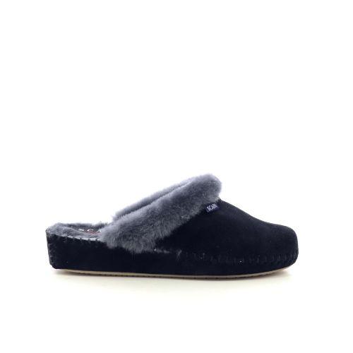 Scapa scarpe damesschoenen pantoffel donkerblauw 218131