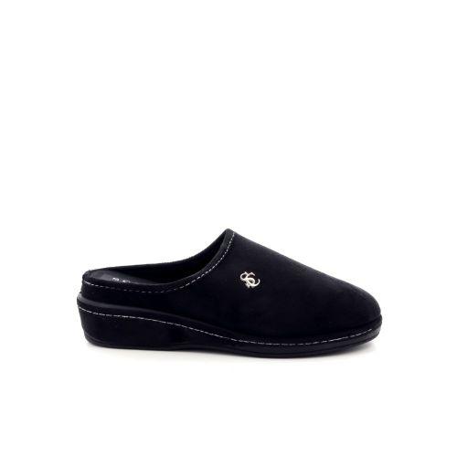 Scapa scarpe damesschoenen pantoffel zwart 199498