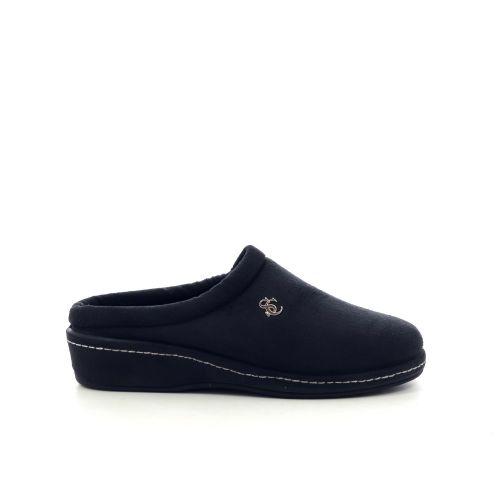 Scapa scarpe damesschoenen pantoffel zwart 210034