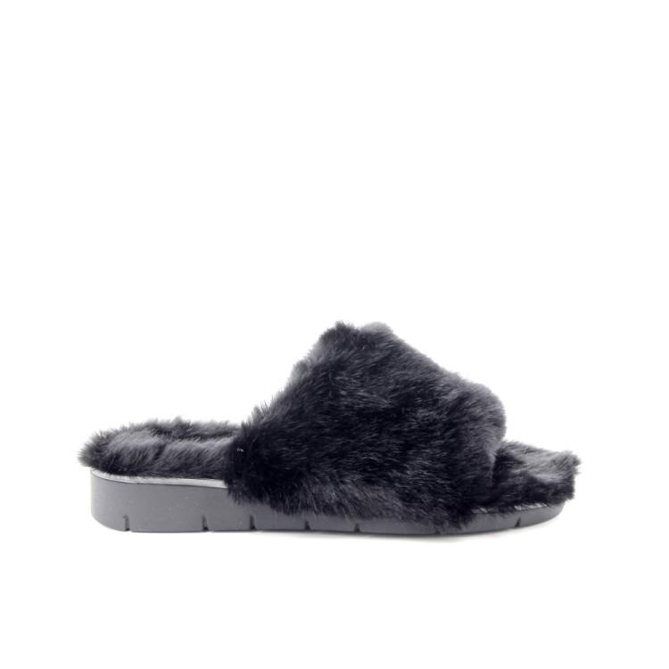 Scapa scarpe damesschoenen pantoffel zwart 188310
