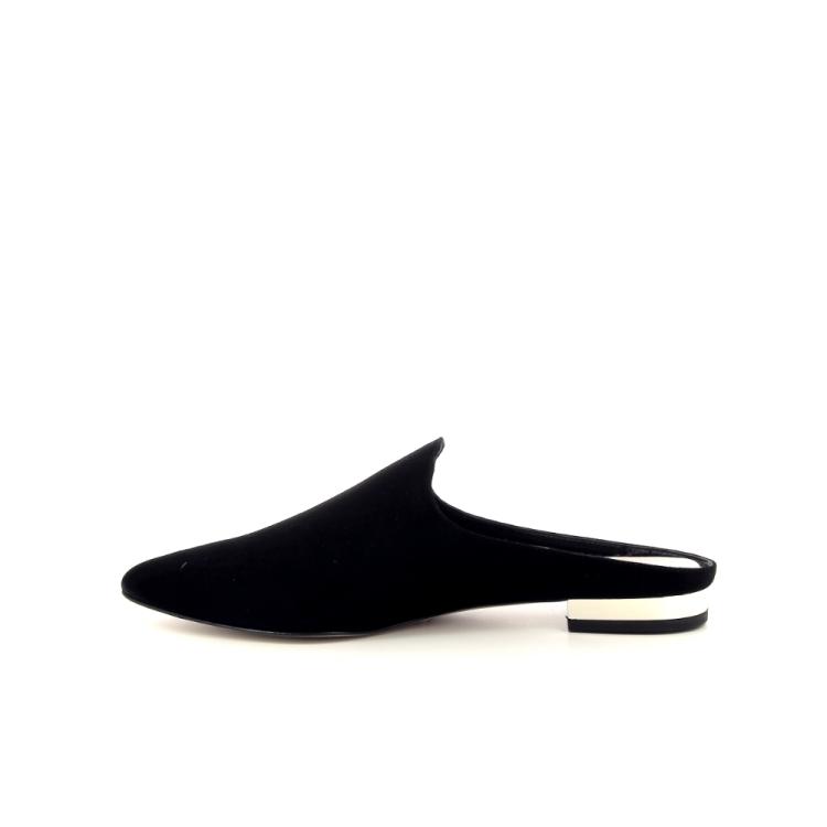 Scapa scarpe damesschoenen sleffer zwart 195286