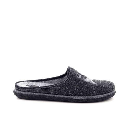 Scapa scarpe  pantoffel donkergrijs 199397