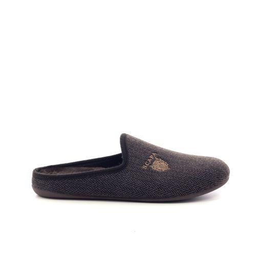 Scapa scarpe  pantoffel donkergrijs 209972