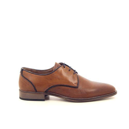Scapa scarpe herenschoenen veterschoen cognac 183266