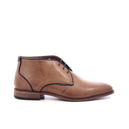 Scapa scarpe herenschoenen boots cognac 203578