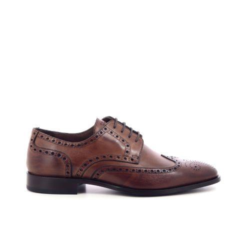 Scapa scarpe herenschoenen veterschoen cognac 203579