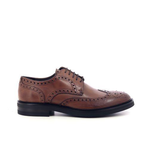 Scapa scarpe herenschoenen veterschoen cognac 209980