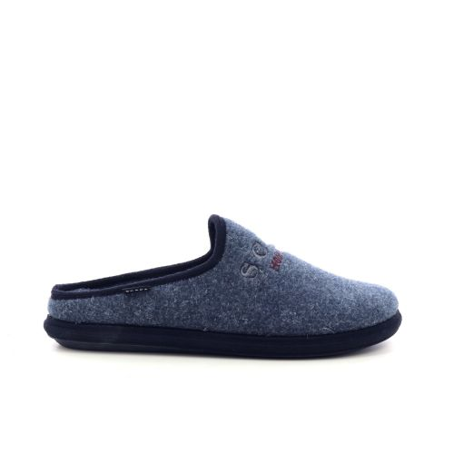 Scapa scarpe  pantoffel jeansblauw 209970