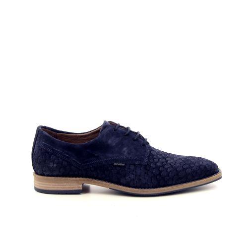 Scapa scarpe solden veterschoen blauw 183260