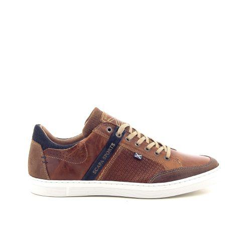 Scapa scarpe solden veterschoen cognac 193707