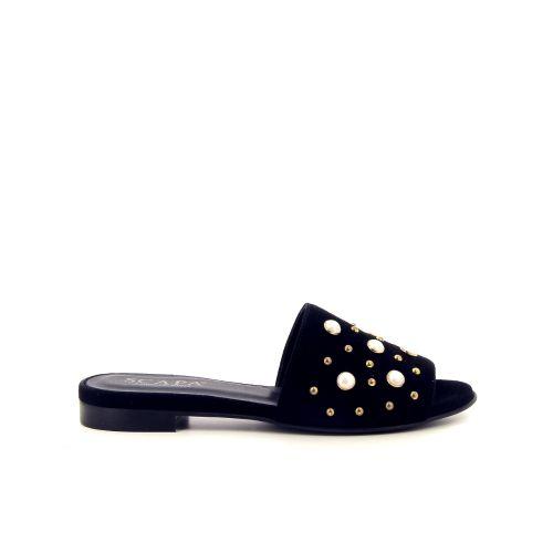 Scapa scarpe solden muiltje zwart 182088