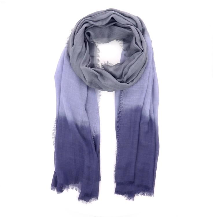 Scarf accessoires sjaals blauw 194291