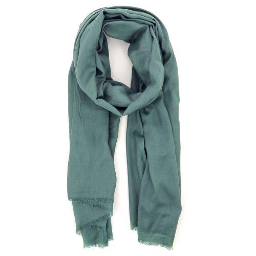 Scarf accessoires sjaals groengrijs 205067