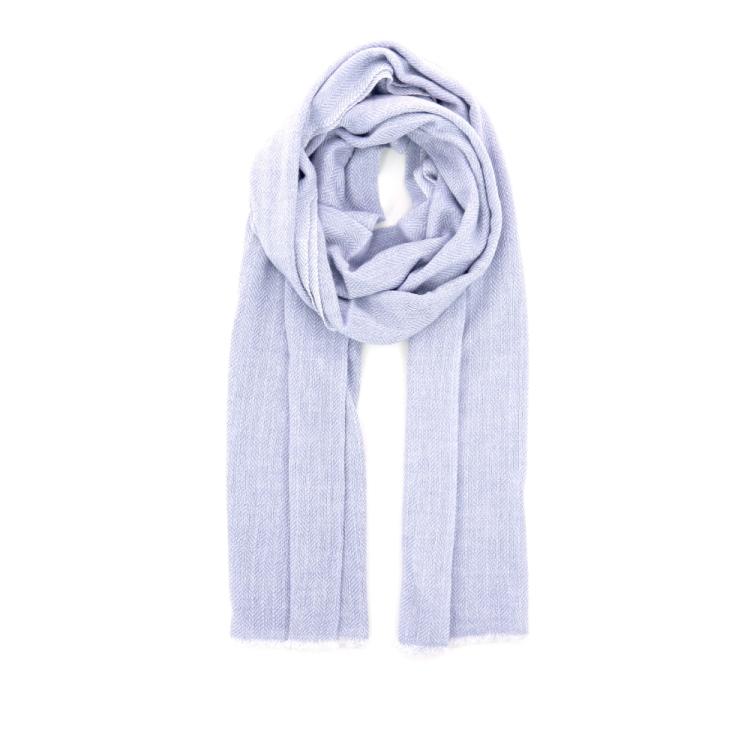 Scarf accessoires sjaals lichtblauw 190290